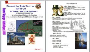 ANNONCE VOYAGE PAYS DE CAU JUILLET 2O15