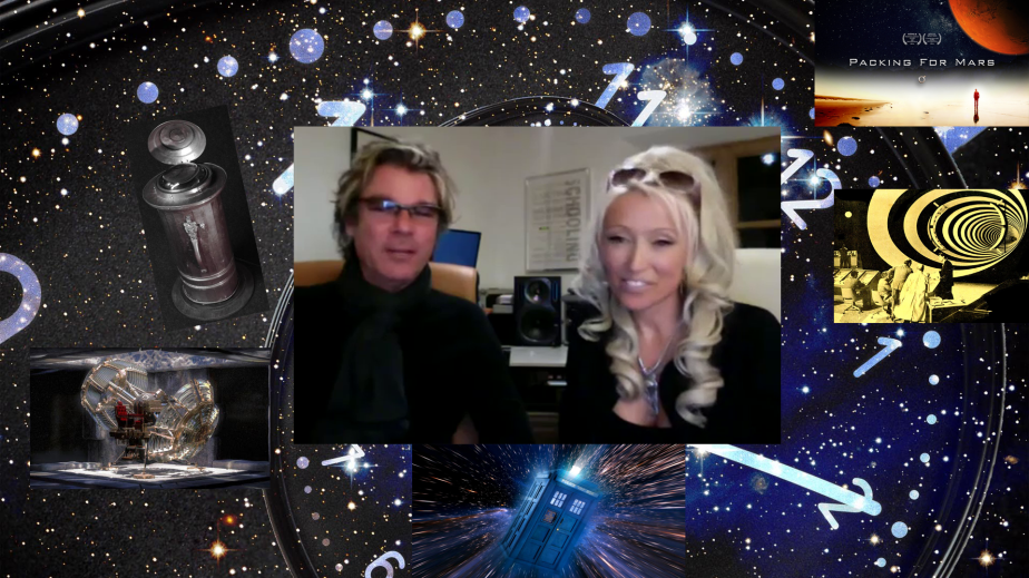 Tonia Madenford and Frank Jacob: Time Travel and Teleportation! 50th UFO dinner event & 16th Awakening Meeting
