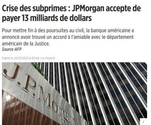 JP MOrgan settlement